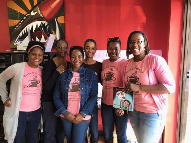 2018 Boys Booked on Barbershop Event with Author Dr. Janaka Bowman Lewis